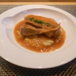 22915722 - ハーブ三元豚のローソ、赤ワインビネガー煮