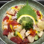 牡蠣小屋浜焼番兵 - バラチラシ(ランチメニュー)