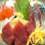 牡蠣小屋浜焼番兵 - 海鮮チラシ     (ランチメニュー)