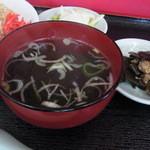 富士食堂 - スープ