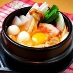 スンドゥブ韓豆 - 野菜たっぷりのスンドゥブ