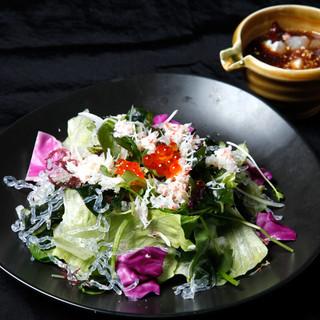 旬鮮台所ZEN - 海の幸サラダ