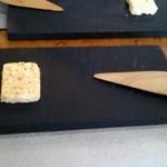 ロティスリー ル パヴィヨン - 自家製アーモンドバター(2013年11月訪問時)