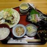 香季稜 深山 - 昼のサービス定食