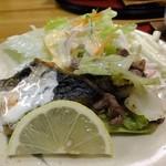 香季稜 深山 - 本日の主菜