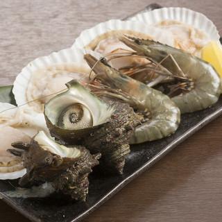 """【玄界灘の海鮮物満載】""""海""""の""""王様""""だからできる新鮮魚介♪"""