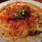 ゆうき亭 - 【'13.11】牡蠣のグラタン