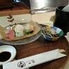 一歩 - 料理写真:刺盛り、獺祭(大吟醸)&お通し