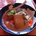 なかひら - 野菜味噌ラーメン 780円(>_<)