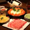 Mitabasara - 料理写真:日本料理三田ばさら名物「トマトすき焼き」
