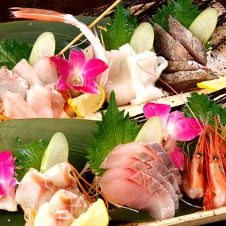 近海直送の鮮魚がオリジナリティーあふれる料理で食べれる!