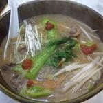三友軒 - 元祖カルビー麺
