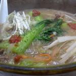 三友軒 - 元祖カルビー麺アップ