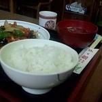 中華菜館龍の子 - 料理写真:酢豚…定食♪