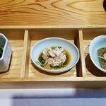 なかお - 料理写真:ランチ1,575円小鉢三品