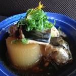 唐揚げバル きしのや - プルプルとろとろ、ブリ大根。日本酒にグー