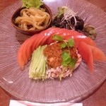 中国料理 龍 - 前菜3種盛り