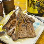 うりずん - 島豚ソーキの塩焼き