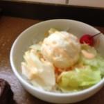 小川コーヒー - セットのサラダ