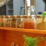 リトル ランカ - スリランカの沢山の香辛料。