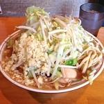 豚星。 - 小ラーメン(野菜・ニンニク¥650)12/3/2013