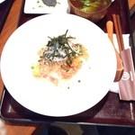 marusan&wacca - 豚ひき肉と豆もやしの和風あんかけ丼