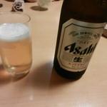 吉喜 - ビール(アサヒスーパードライ)