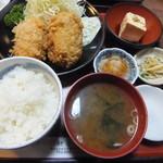 22940379 - クリームコロッケ定食(800円)