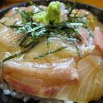 づけ丼屋 桜勘 - 1000えん カンパチづけ丼定食W2013.11