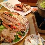 22945677 - カニ鍋、焼きガニめちゃ美味!!