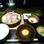 22946267 - 牛すき焼き定食
