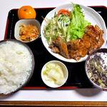 味吉 - 料理写真:トンテキ定食(大盛り)