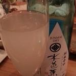 やきとり 宮川 - 水芭蕉 発泡 2013.12