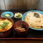 22949180 - ミニかつ丼セット(肉汁かてうどん付) 1,100円
