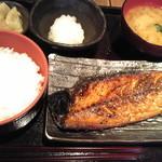 22949582 - サバ醤油漬け定食