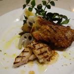 セントベーネ - 軍鶏ロックのグリル・山椒風味
