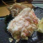 魚真 渋谷店 - ほぐし毛蟹ハーフ