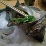 魚真 渋谷店 - さざえのつぼ焼き