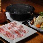 B&M 151A - 料理写真:しゃぶしゃぶ SPF豚バラ