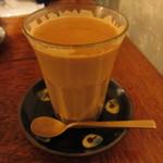 tea room mahisa - マサラチャイ(一口いただいた後ですm(__)m)