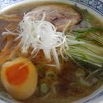 22951681 - ラーメンセット(ミニ炒飯)¥750のラーメン