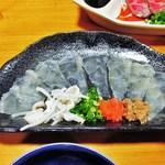 料理工房 竹田 - 料理写真:オコゼ刺身