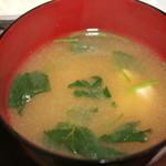 サクラ - 味噌汁