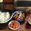 サイトウ肉店 - 料理写真:もつ煮込み定食(500円)