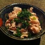海物 - お通し(酢モツ)