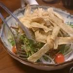 22954418 - カリカリごぼうと旬の野菜サラダ