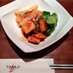 焼肉トラジ - キムチ盛3種 680円