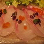 新和食 伊達 - 白身魚のカルパッチョ