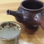 22960056 - 蕎麦湯も飲み干しました。