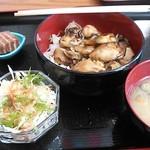 22961410 - オイカバ丼(牡蠣のかば焼き丼)\1,000